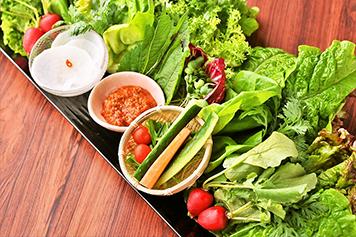 野菜盛合せの写真